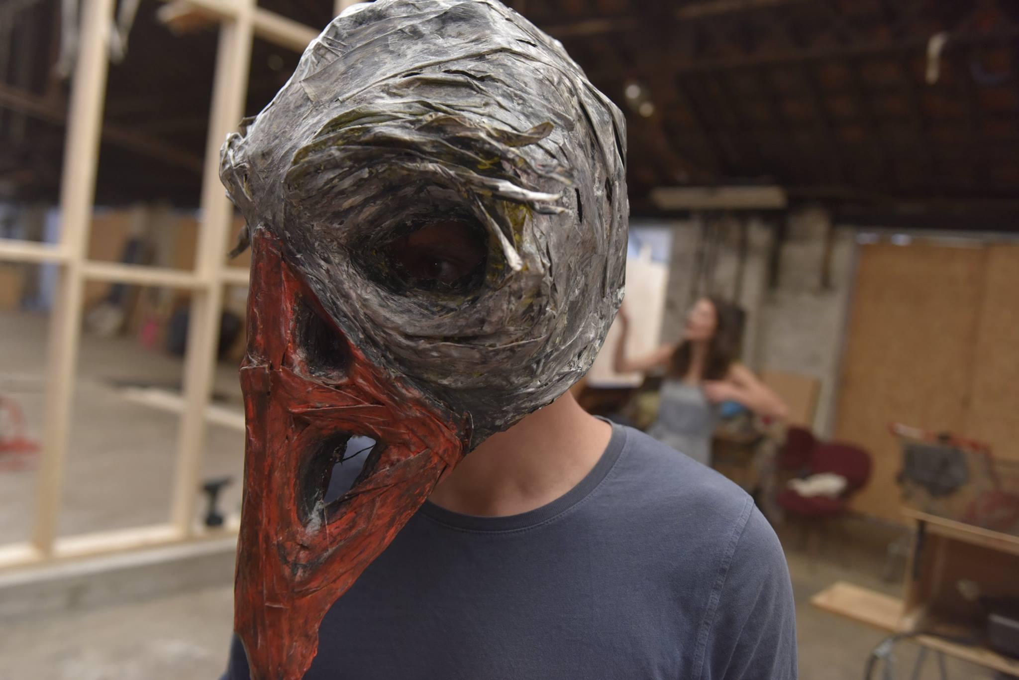 Masques Corbeaux